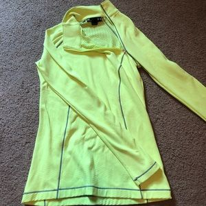 Neon Yellow Under Armour 1/4 Zip Pullover